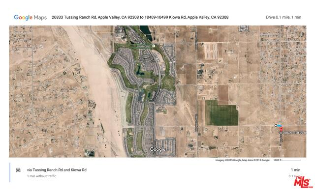 Photo of N/W Corner of KIOWA and Tussing Ranch Road RD, APPLE VALLEY, CA 92308