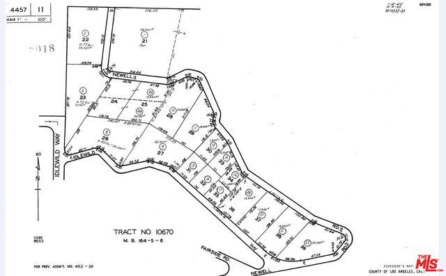0 Newell Rd, MALIBU, California 90265, ,Land,For Sale,Newell Rd,18-374712