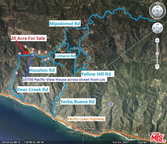 0 PACIFIC VIEW DR, MALIBU, California 90265, ,Land,For Sale,PACIFIC VIEW,18-414720