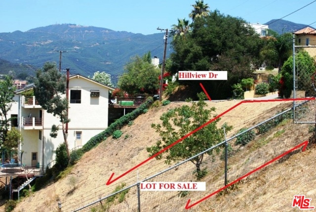 4373 Hillview DR, MALIBU, California 90265, ,Land,For Sale,Hillview,19-429780