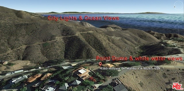 4360 HILLVIEW DR, MALIBU, California 90265, ,Land,For Sale,HILLVIEW,19-432690