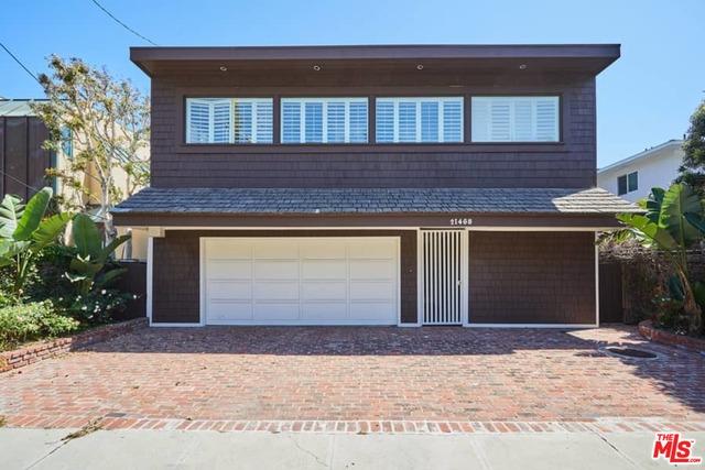21468 PACIFIC COAST HWY, MALIBU, California 90265, 4 Bedrooms Bedrooms, ,4 BathroomsBathrooms,Residential Lease,For Sale,PACIFIC COAST,19-479008