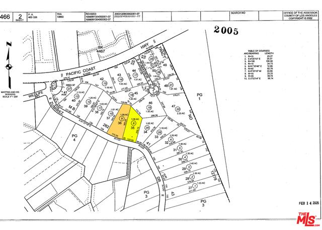 6628 ZUMIREZ DR, MALIBU, California 90265, ,Land,For Sale,ZUMIREZ,19-481492