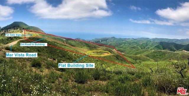 2501 Mar Vista Ridge DR, MALIBU, California 90265, ,Land,For Sale,Mar Vista Ridge,19-482402