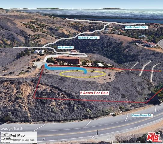 28462 Via Acero RD, MALIBU, California 90265, ,Land,For Sale,Via Acero,19-484676