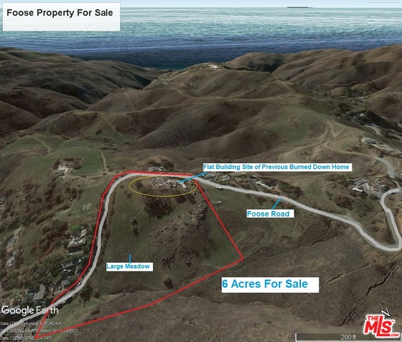 2712 Foose RD, MALIBU, California 90265, ,Land,For Sale,Foose,19-485594