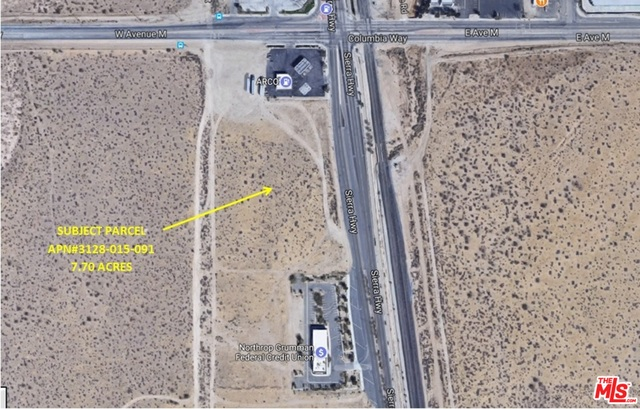 Photo of SWC of SIERRA HWY and AVE M, PALMDALE, CA 93550