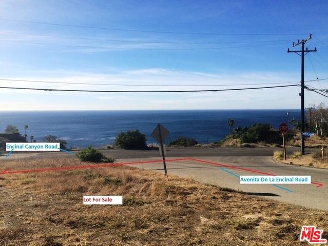 0 Avenida De La Encinal, MALIBU, California 90265, ,Land,For Sale,Avenida De La Encinal,20-553176