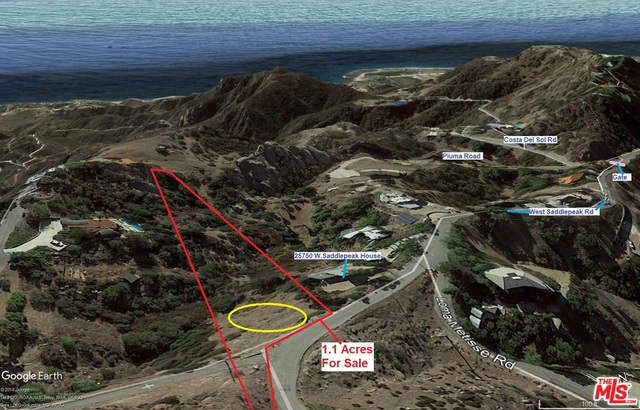 24744 Saddlepeak RD, MALIBU, California 90265, ,Land,For Sale,Saddlepeak,20-640196