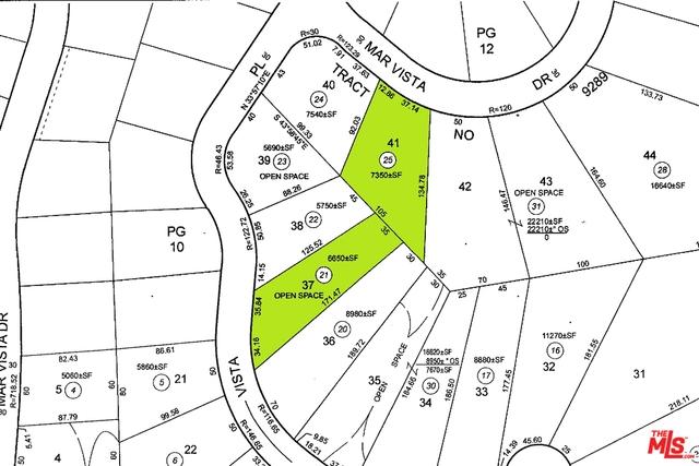 41 MAR VISTA DR, MALIBU, California 90265, ,Land,For Sale,MAR VISTA,21-688356